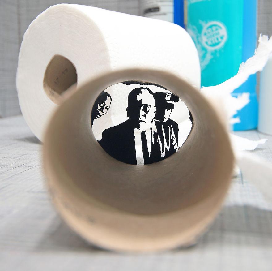 The Shawshank Redemption In The Bathroom