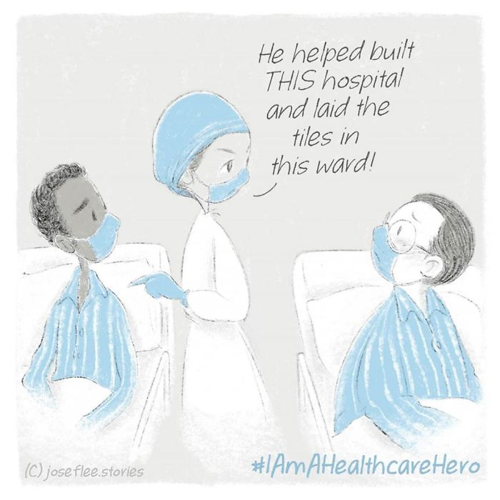 I Created Heartwarming Comics Inspired By Healthcare Workers That Will Hopefully Help You Appreciate Them (10 New Pics)