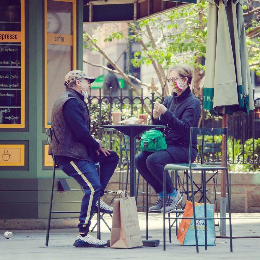 Sun, Coffee, Love, Laughter, COVID-19 Style