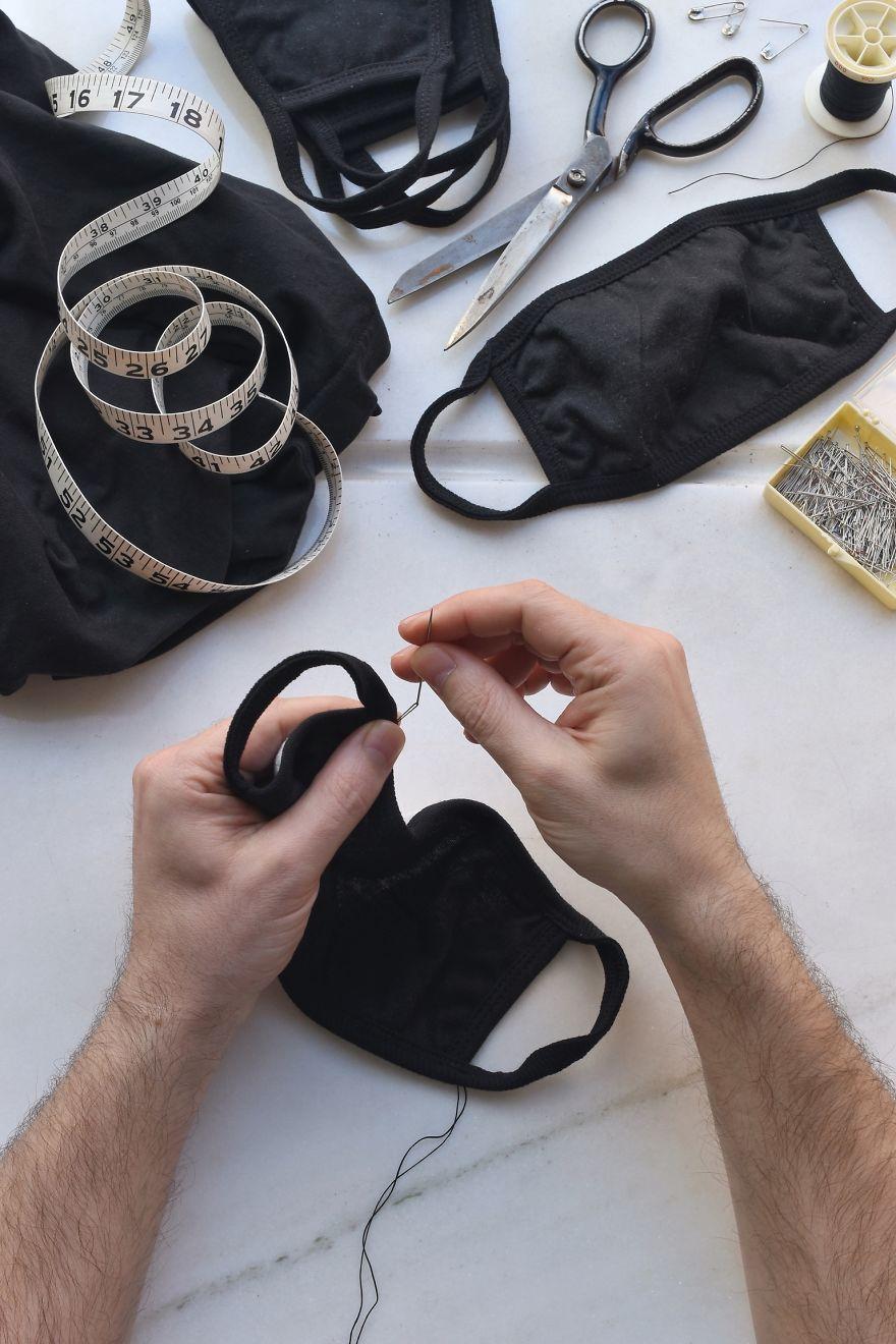 Making Face Masks At Home