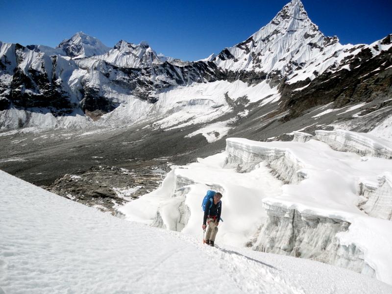 At 6000m High, Mera Peak Climbing Nepal