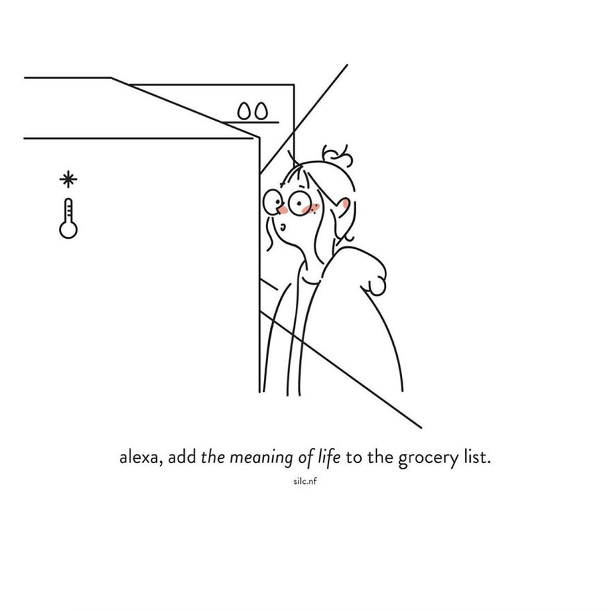 A Young Illustrator Ask Herself About The Meaning Of Life During Quarantine