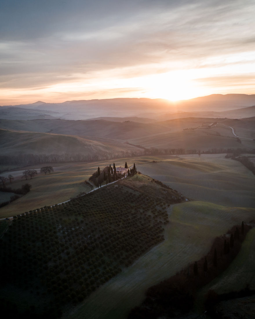 Spring Morning And Tuscany Vibes