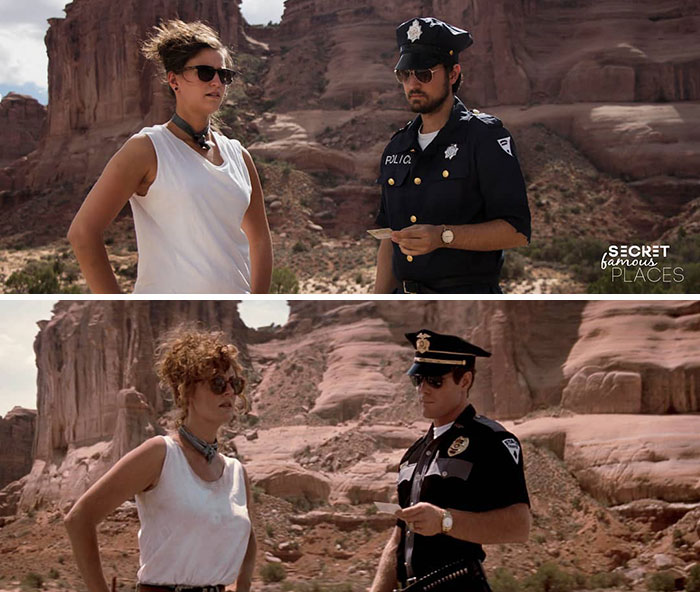 Thelma And Louise / Arches National Park, USA