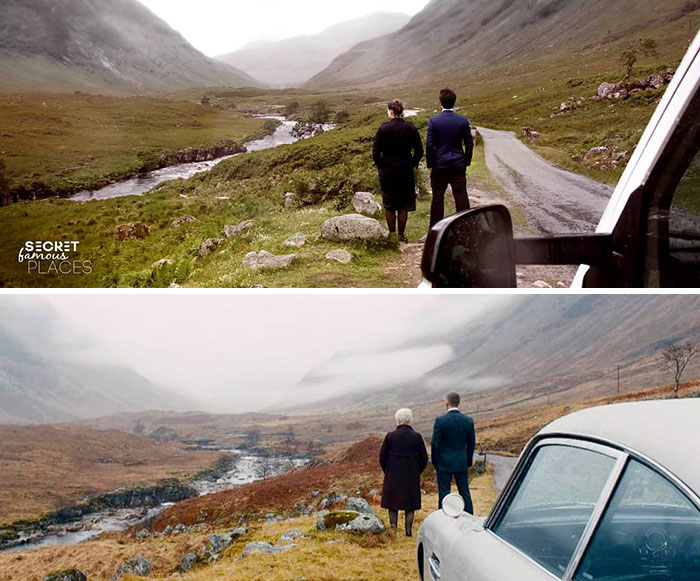 James Bond / Glen Etive, Scotland