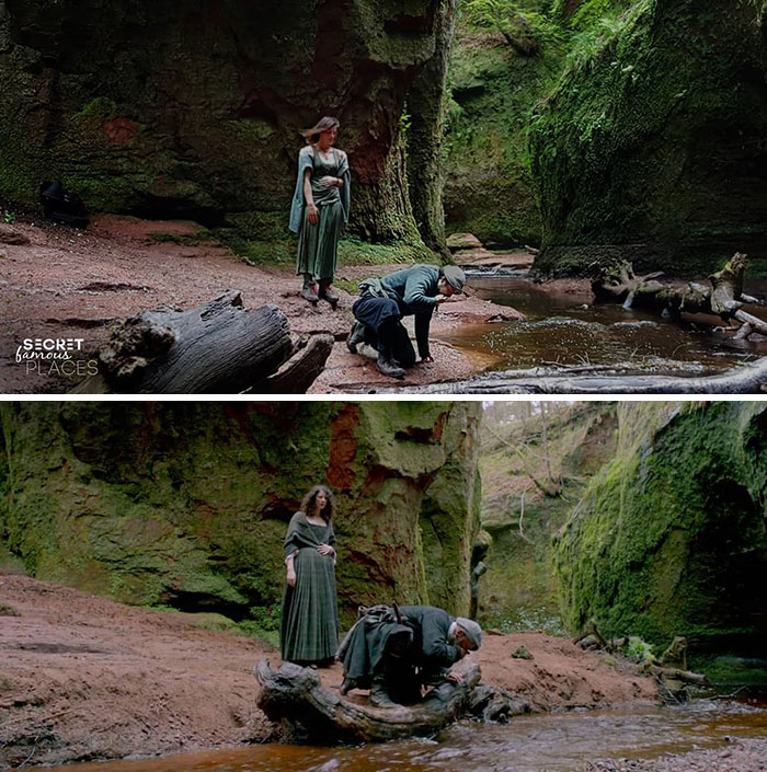 Outlander / The Devil's Pulpit, Scotland