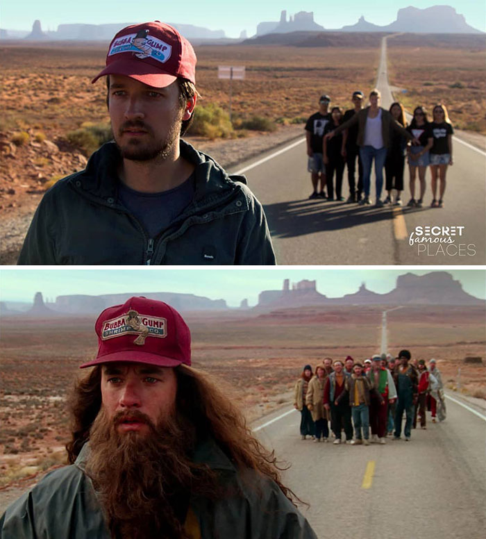 Forrest Gump / Monument Valley, USA