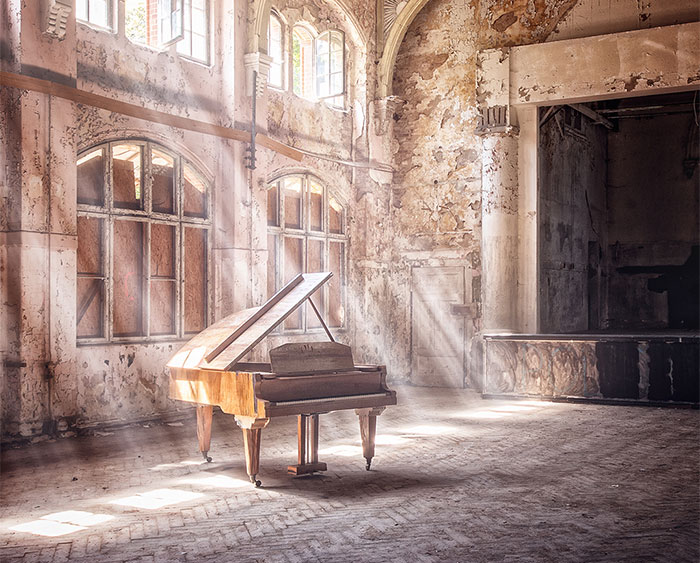 These Photographers Explore The Haunting Beauty Of Abandoned Places, Here Are My 20 Favorite Pics