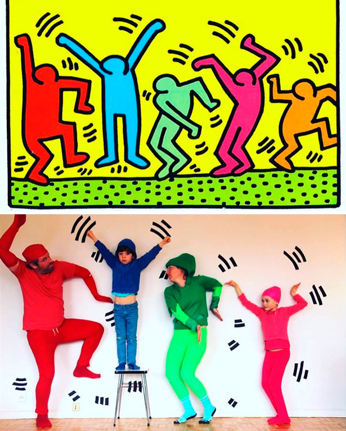 Pop Art Figures By Keith Haring