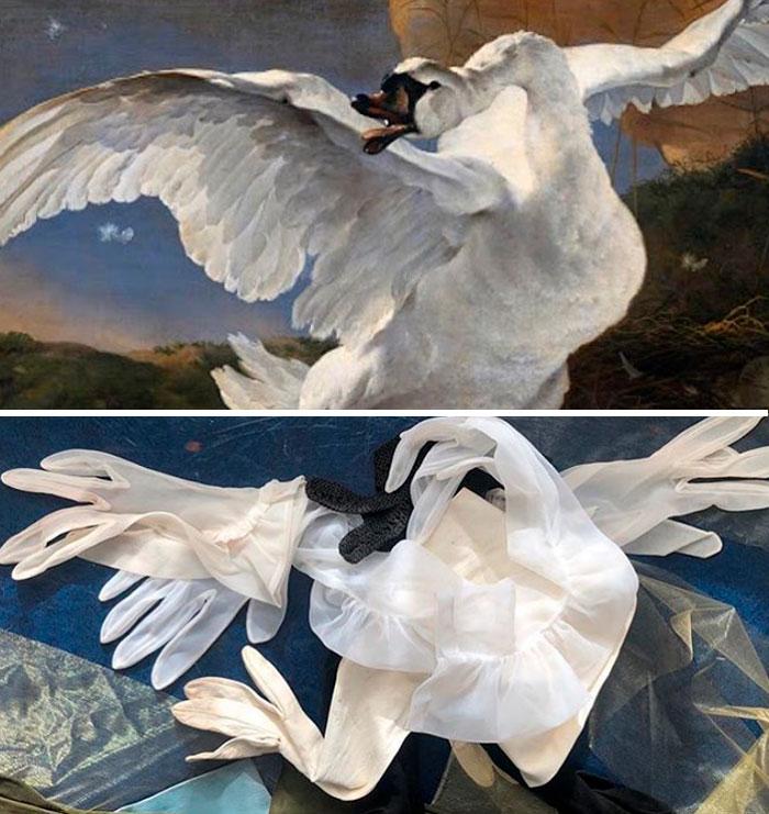 "Jan Asselijn ""The Threatened Swan"""
