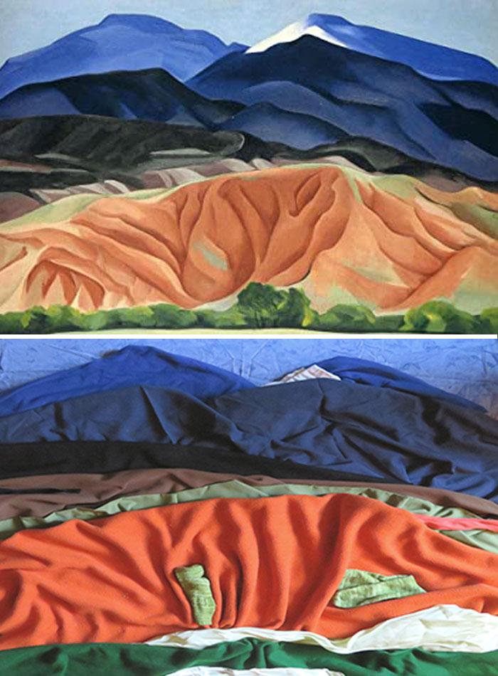Georgia O'keeffe--Black Mesa Landscape, New Mexico