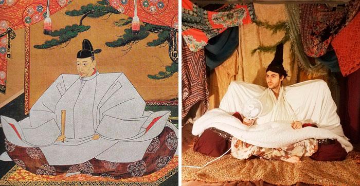 Portrait Of Toyotomi Hideyoshi By Kano Mitsunobu