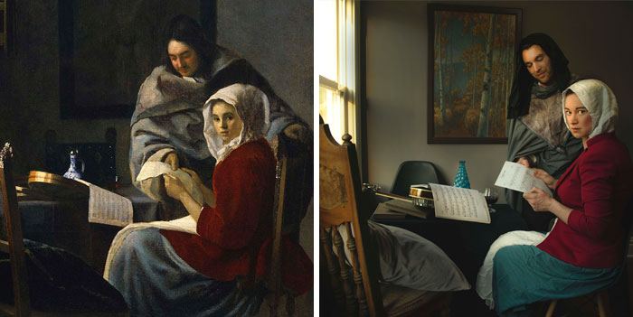 """Girl Interrupted At Her Music"" - Johannes Vermeer"