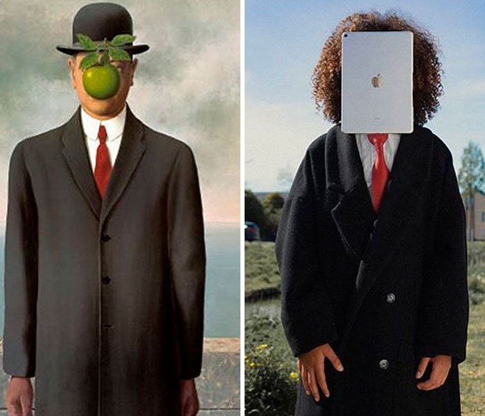 """The Son Of Man"" By René Magritte"