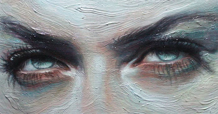 15 Paintings Of Eyes Full Of Emotions By Malsart