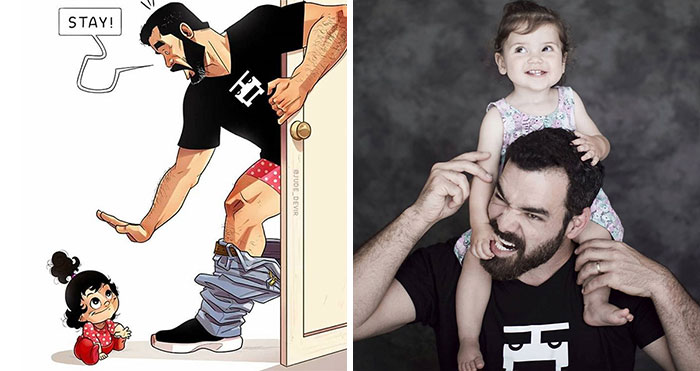 Famous Cartoon Couple Reveal Their Daughter In 9 Adorable Pics