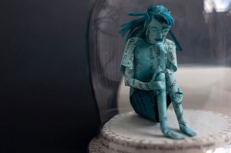 Artist Makes Amazing Sculptures Using Only Paper
