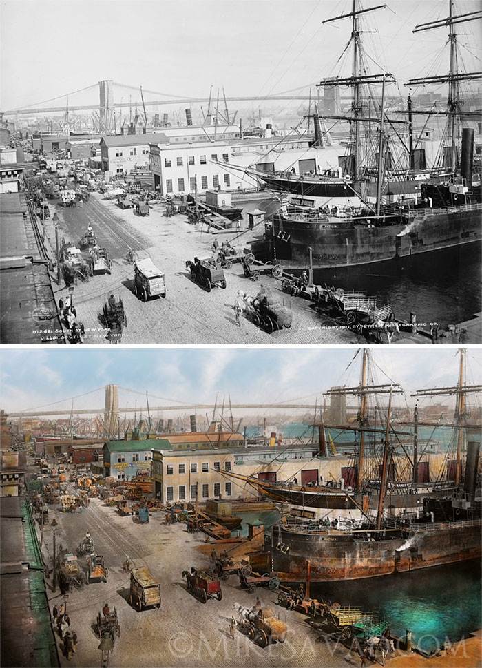 South Street Seaport, 1901