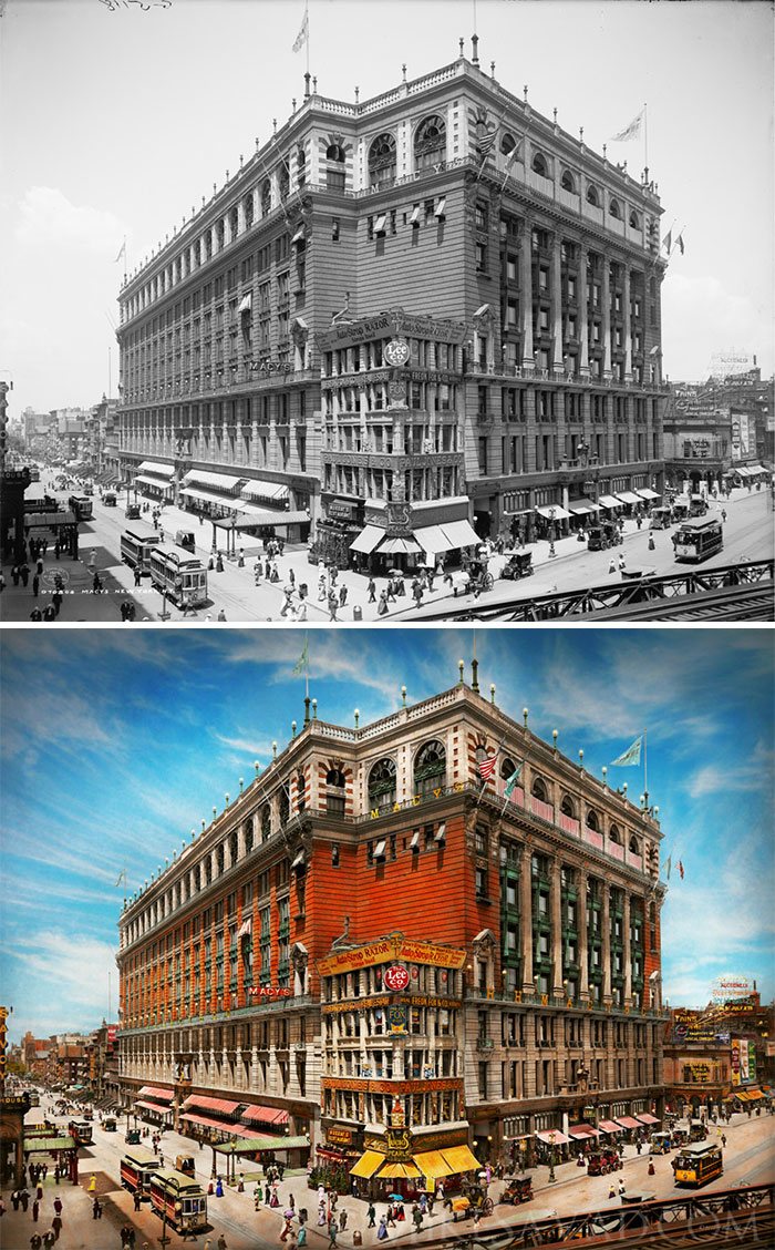 The Nation's Largest Dept Store, 1908