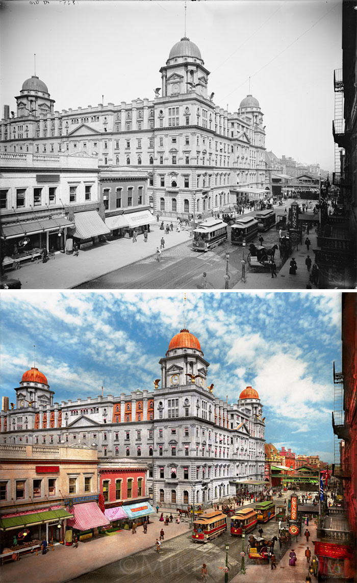 The Short Lived Grand Central, 1900