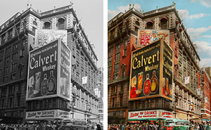 I Colorized 30 B&W Photos Of New York From Years Ago
