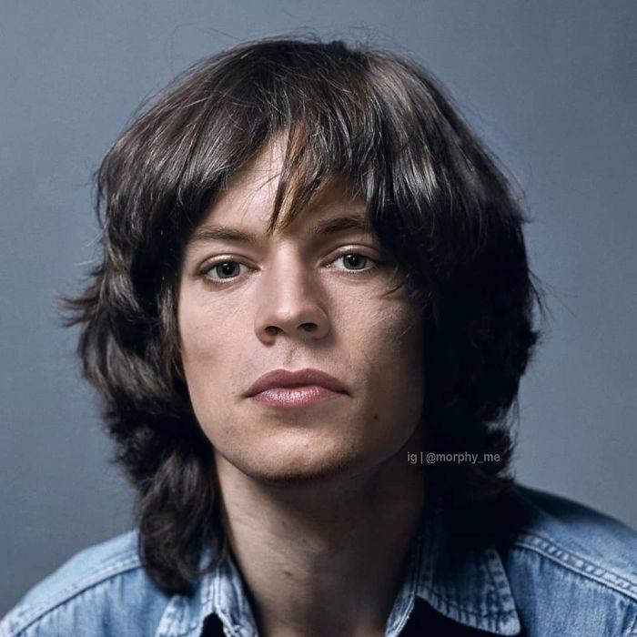 Harry Styles & Mick Jagger