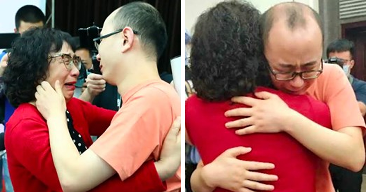 Parents Reunite With Kidnapped Son After 32 Years After Helping 29 Other Missing Kids Reunite With Families