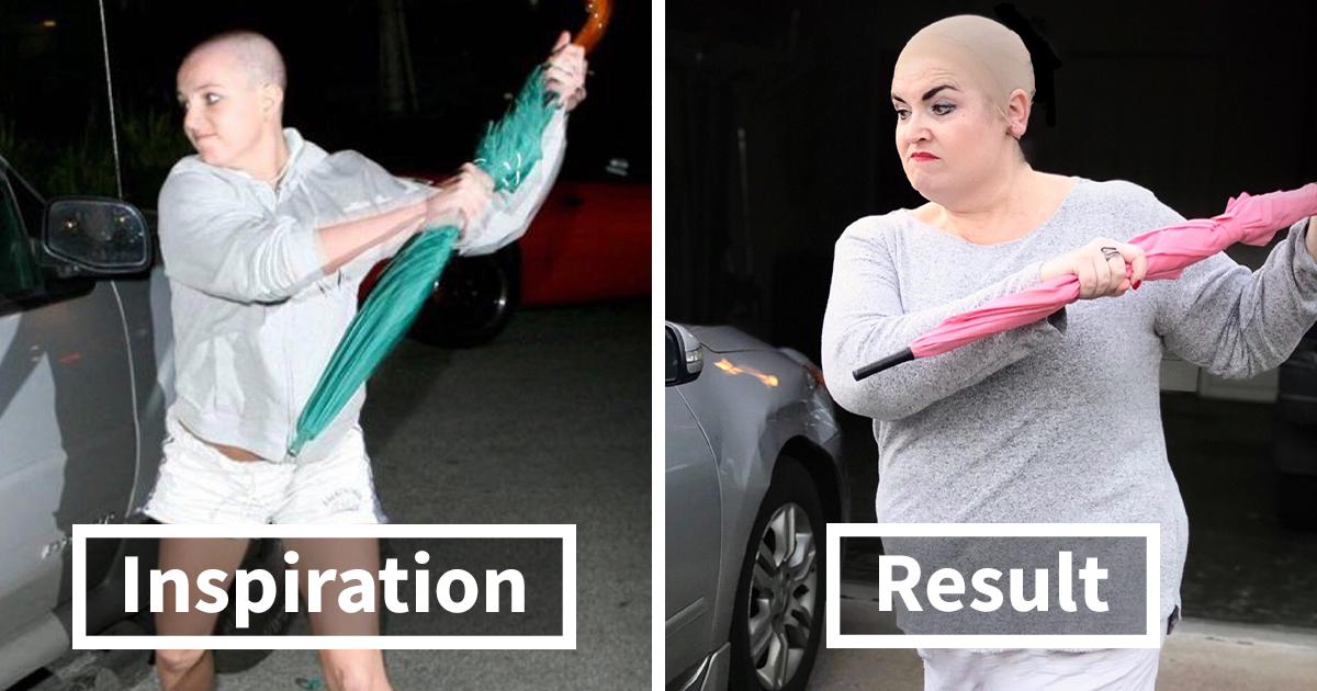 32 Pictures Of Famous Pop Culture Scenes I Recreated While Stuck In Quarantine