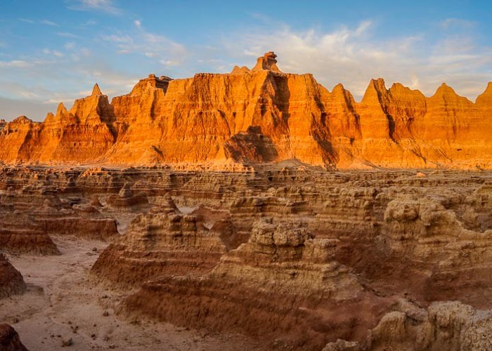 Hiking In Badlands National Park