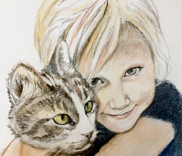 My Drawings And Paintings Of My Daughter