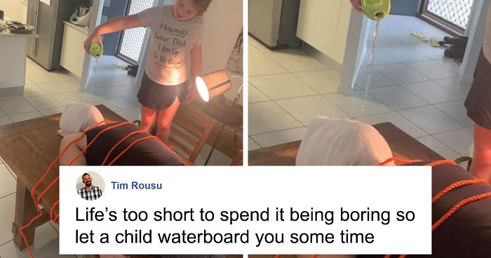 Real Estate Agents Ask For Photos Of The House For An Inspection, So This Dad Sends Them Hilarious Pics