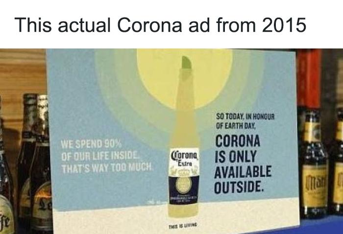 Corona Outside