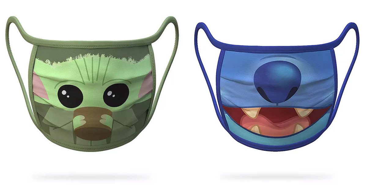 Disney Launches A Line Of Reusable Cloth Face Masks Featuring Your Favorite Characters (24 Pics)