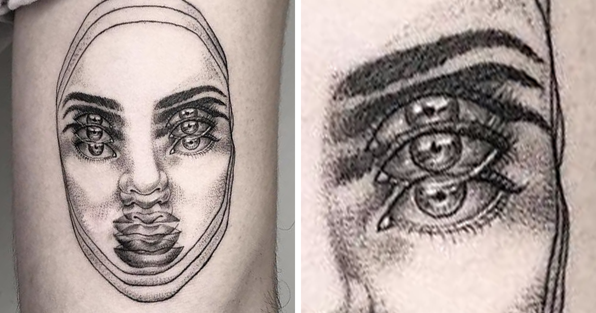 This Talented Mexican Tattoo Artist Specializes In 'Double Vision' Tattoos (23 Pics) - bored panda