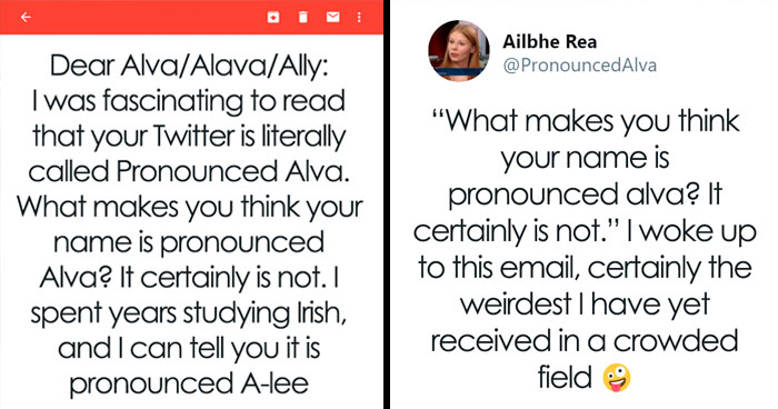 Someone Writes An Outrageous Email Saying This Woman Doesn't Know How To Pronounce Her Name And It Backfires
