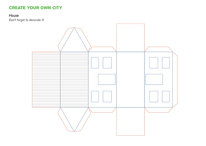 Architecture Studio Releases A Series Of Templates Children Can Use To Create Paper Cities During Lockdown