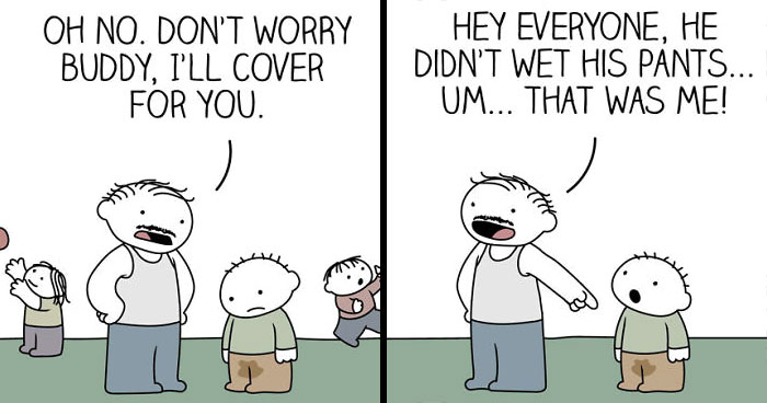 30 Four-Panel Comics For People Who Have A Bit Of A Darker Sense Of Humor