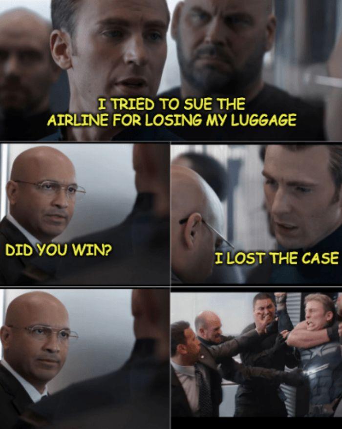 Captain America The Office Meme