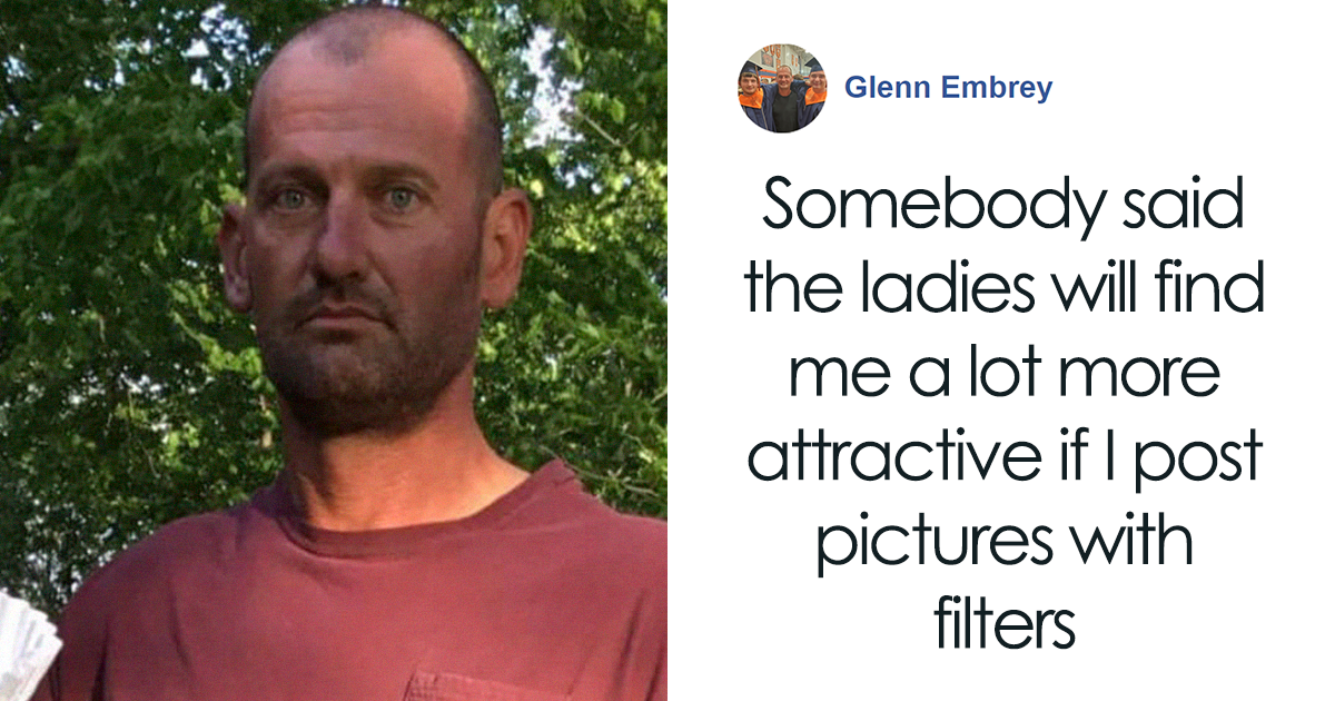 Somebody Told This Guy That Ladies Will Find Him More Attractive If He Posted Pics With Filters, And The Results Are Hilarious (7 Pics)