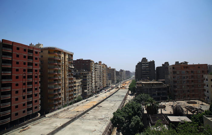 Egyptian Government Decided To Build A Highway In The Middle Of A Residential Area