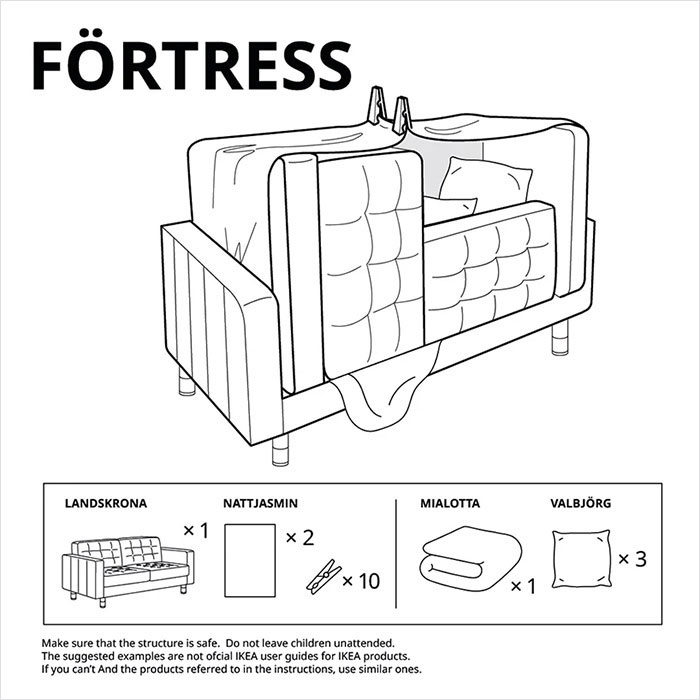 6 Types Of Furniture Forts