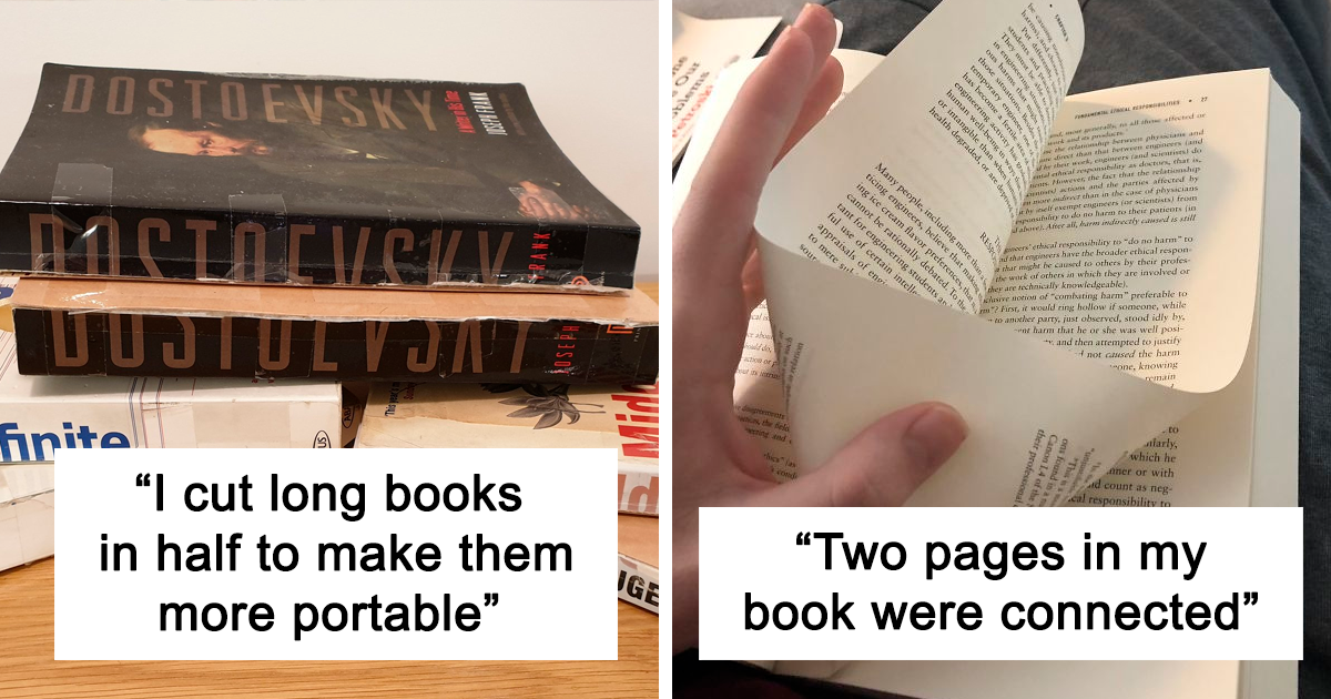 40 Things That Will Infuriate Book Lovers