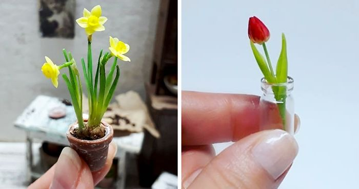 Russian Mother Of Three Creates Realistic Miniature Sculptures (36 Pics)