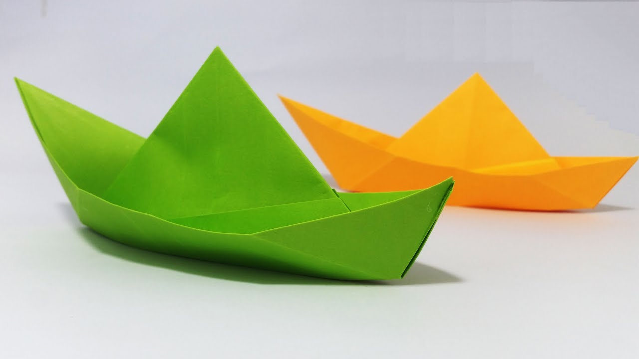 Paper Boat Making Tutorial That Floats (Clear Concept)