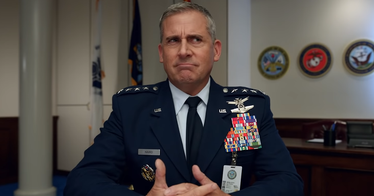Netflix Drops Hilarious 'Space Force' Trailer With Steve Carell