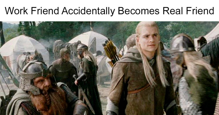 Person Matches Scenes From 'The Lord Of The Rings' To Funny Headlines From 'The Onion' And Fans Find It Hilarious