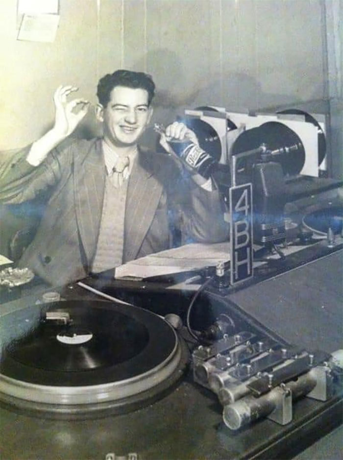 This Was My Grandad. He Was Australia's Youngest Radio Announcer At 16 Back In 1934