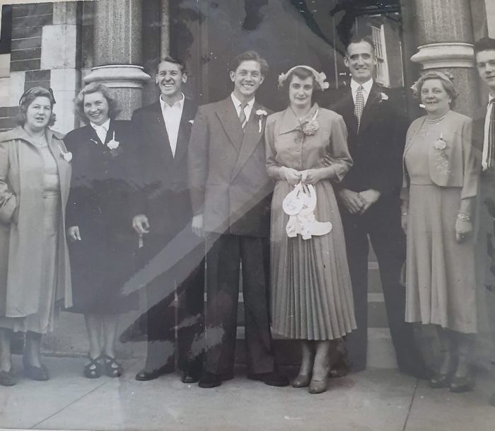 My Mum And Dads Wedding Here In The UK . Mum Was 20 Dad 21