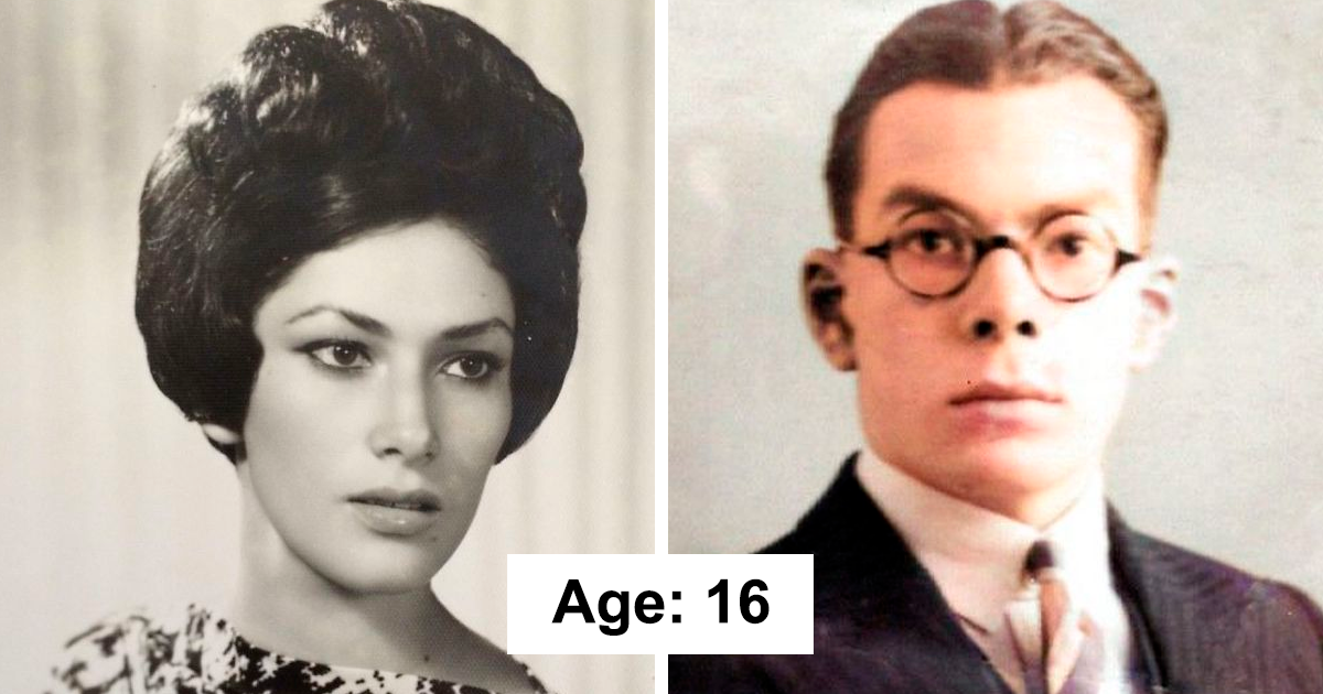 "27 Pics That ""Prove"" People Aged Faster In The Past (New Pics)"