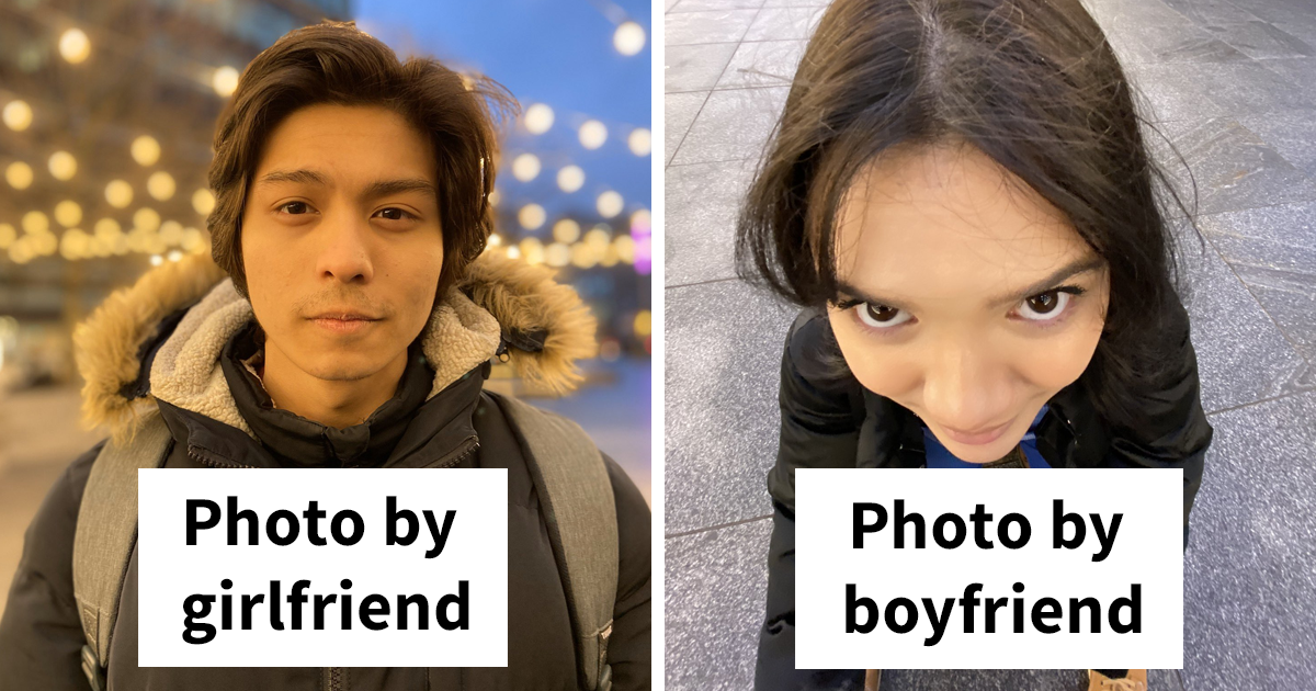 "70 Girls Share ""Pics I Take Of My Boyfriend Vs Pics He Takes Of Me"" Comparisons (Part II)"